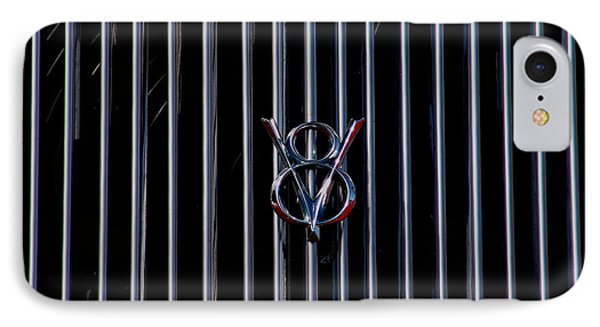 IPhone Case featuring the photograph V8 Grill by Chris Thomas