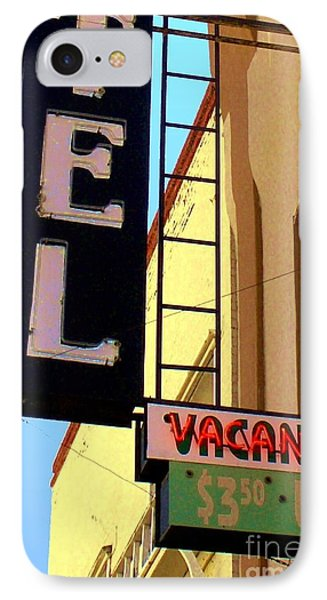 Vacancy IPhone Case by Valerie Reeves