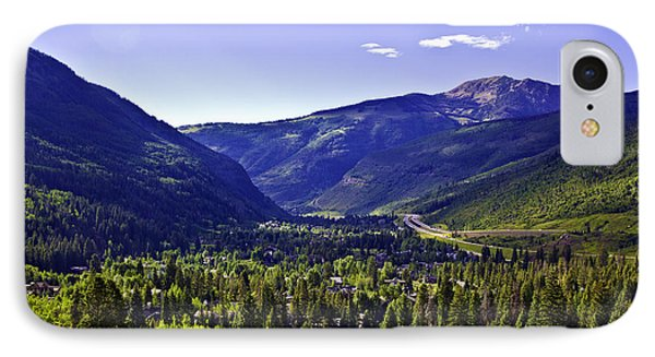 Vail Valley View IPhone Case by Madeline Ellis