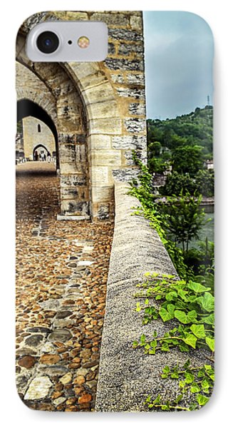 Valentre Bridge In Cahors France Phone Case by Elena Elisseeva