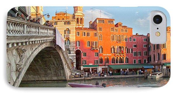 Venice Rialto Bridge Phone Case by Heiko Koehrer-Wagner