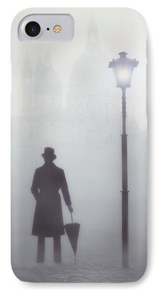Victorian Man IPhone Case by Joana Kruse