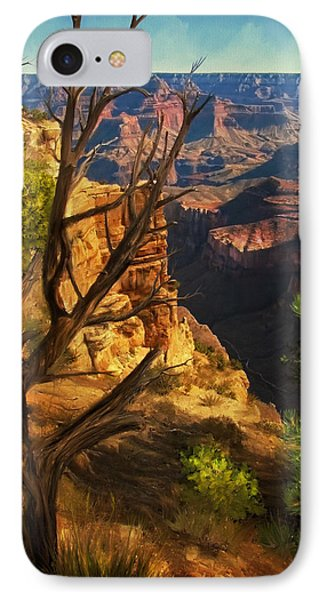 View From South Rim IPhone Case