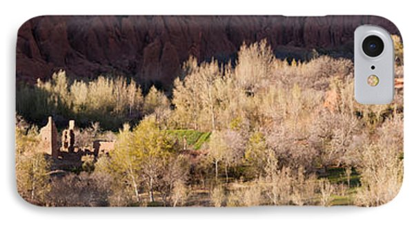 Village In The Dades Valley, Dades IPhone Case by Panoramic Images