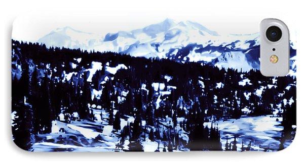 Vintage Mount Rainier Forest Early 1900 Era... IPhone Case by Eddie Eastwood