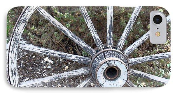 Wagon Wheel Study 2 IPhone Case by Sylvia Thornton