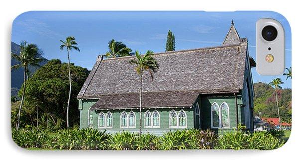 Waioli Church 1912, Hanalei, Kauai IPhone Case by Douglas Peebles