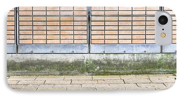 Wall Background Phone Case by Tom Gowanlock