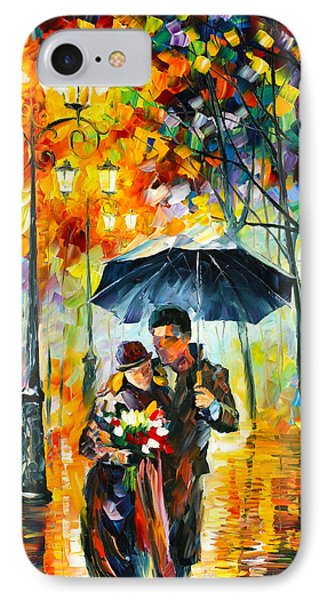 Warm Night Phone Case by Leonid Afremov