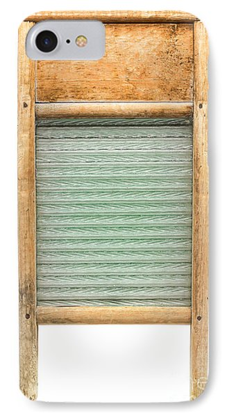 Washboard IPhone Case by Olivier Le Queinec