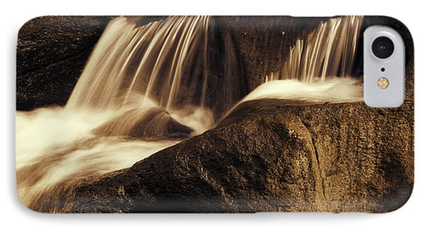 Water Flow Phone Case by Les Cunliffe