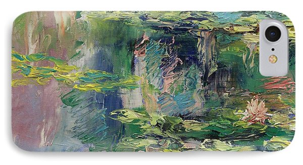 Water Lilies IPhone Case by Michael Creese