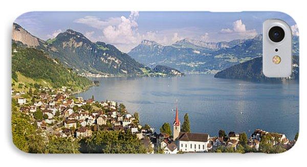 Weggis Switzerland Phone Case by Brian Jannsen
