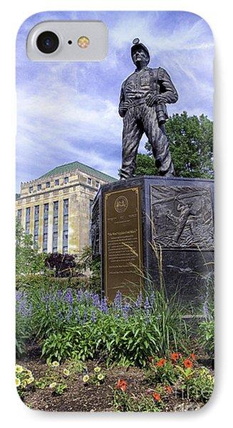 West Virginia Coal Miner Phone Case by Thomas R Fletcher