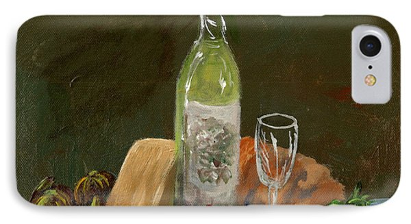 White Wine IPhone Case