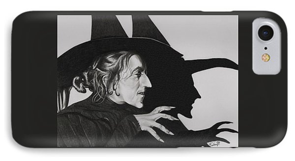 Wicked Witch Of The West IPhone Case by Fred Larucci