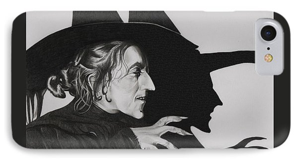 Wicked Witch Of The West Phone Case by Fred Larucci