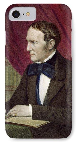 William Hickling Prescott (1796-1859) IPhone Case by Granger