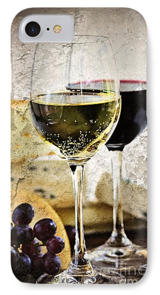 Wine And Cheese IPhone Case by Elena Elisseeva