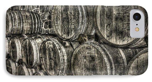 Wine Barrels Phone Case by Deborah Knolle