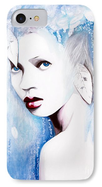 IPhone Case featuring the painting Winter by Denise Deiloh