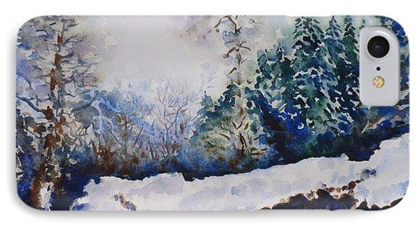Winter In Dombay Phone Case by Zaira Dzhaubaeva