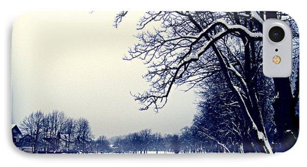 Winter IPhone Case by Nina Ficur Feenan