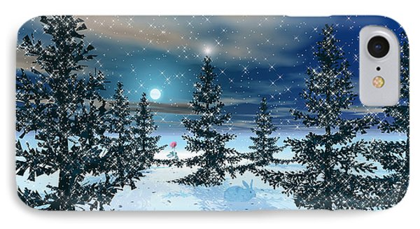 Winter Scenery IPhone Case by Harald Dastis