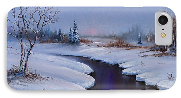 Winter Stillness Phone Case by C Steele