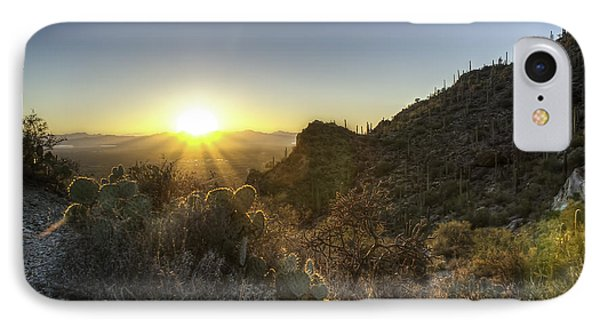 IPhone Case featuring the photograph Winter Sunset by Lynn Geoffroy