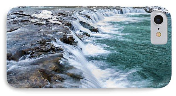 Winter Waterfall Phone Case by Thomas R Fletcher
