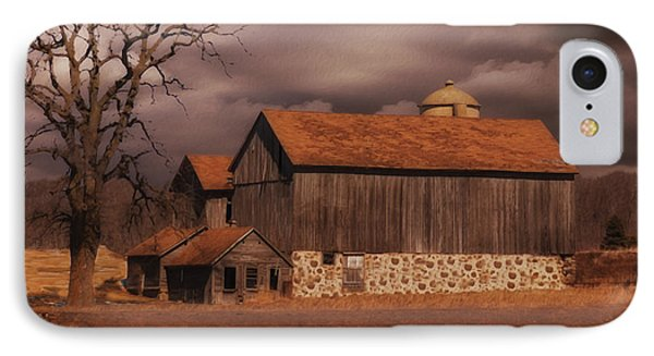 Wisconsin Barn IPhone Case by Jack Zulli