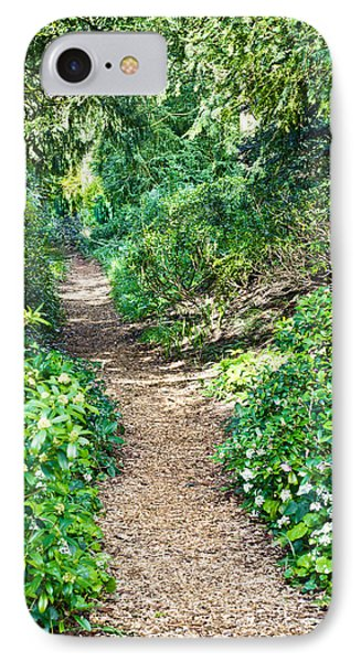 Woodland Path IPhone Case by Tom Gowanlock