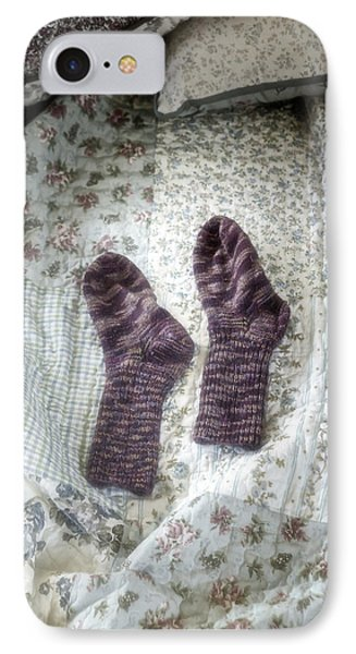 Woollen Socks Phone Case by Joana Kruse