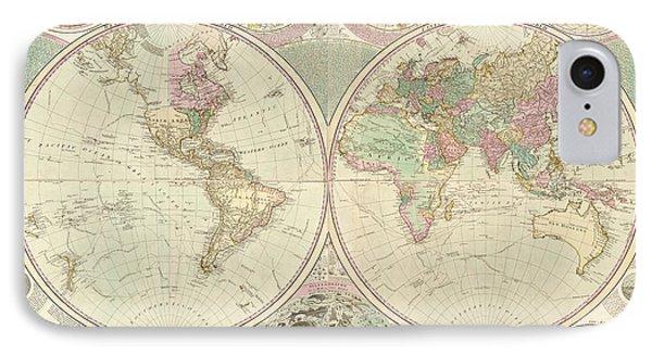 World Map Phone Case by Gary Grayson
