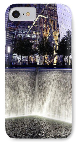 World Trade Center Museum IPhone Case by Lilliana Mendez