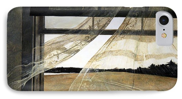 Wyeth's Wind From The Sea IPhone Case by Cora Wandel