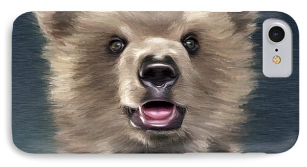 Young Brown Bear IPhone Case