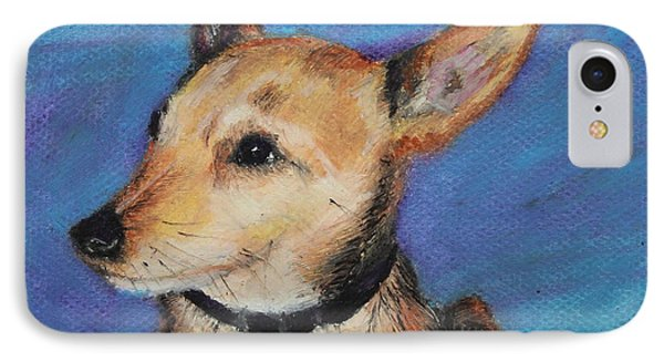 IPhone Case featuring the painting Zack by Jeanne Fischer