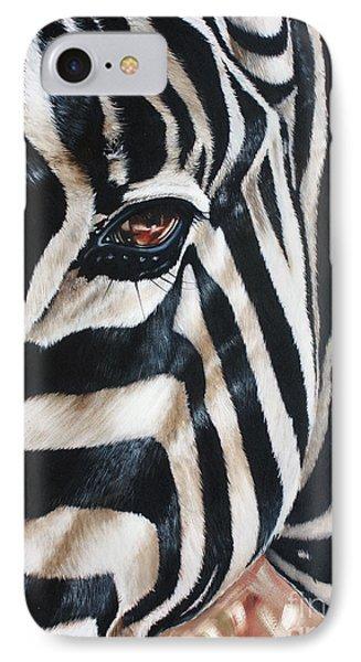 Zebra Phone Case by Ilse Kleyn