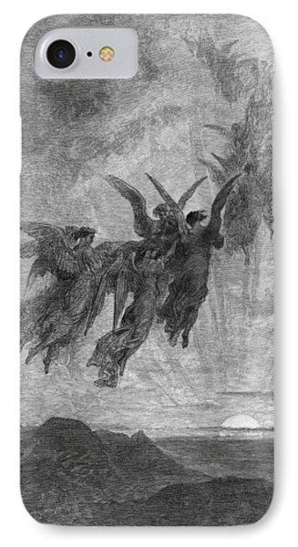 Dor� The Raven, 1882 IPhone Case