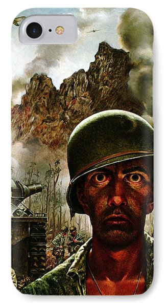 2000 Yard Stare IPhone Case by Mountain Dreams