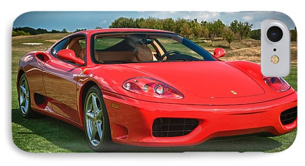 2001 Ferrari 360 Modena IPhone 7 Case by Sebastian Musial