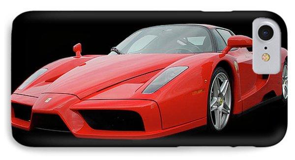 2002 Enzo Ferrari 400 Phone Case by Jack Pumphrey