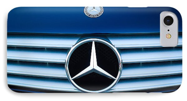 2003 Cl Mercedes Hood Ornament And Emblem Phone Case by Jill Reger