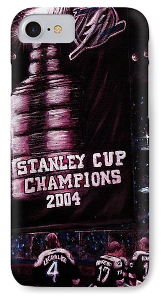 2004 Champs Phone Case by Marlon Huynh
