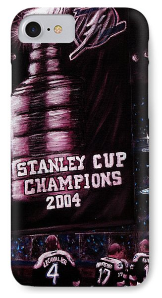 2004 Champs IPhone Case by Marlon Huynh