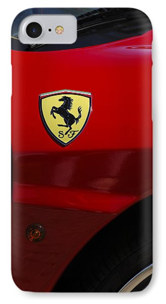 2007 Ferrari F430 Spider F1 Phone Case by Jill Reger