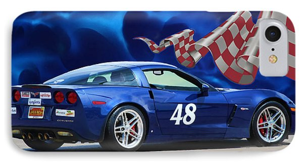 2007 Z06 Corvette IPhone Case