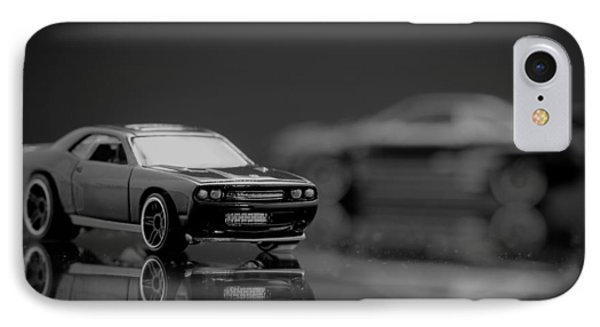 2008 Dodge Challenger Srt8 IPhone Case by Wade Brooks